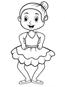 dance shoes coloring pages