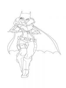 dc comics characters coloring pages