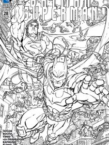 dc universe coloring pages free