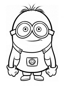 despicable me 3 coloring pages download