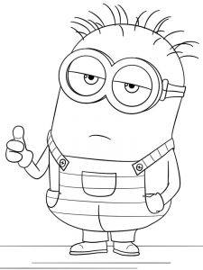 despicable me 3 coloring pages free