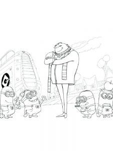 despicable me 3 coloring pages pdf free