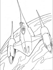 detailed star wars coloring pages