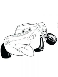 disney cars christmas coloring pages