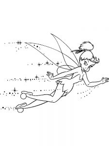disney coloring pages tinkerbell and friends