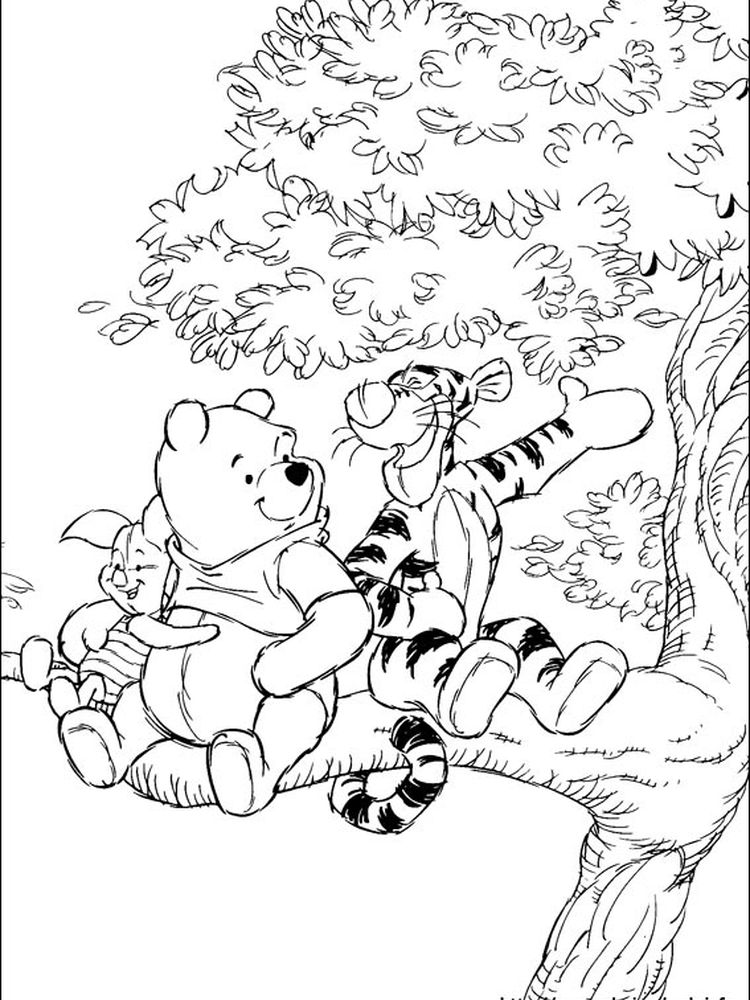 disney coloring pages winnie the pooh