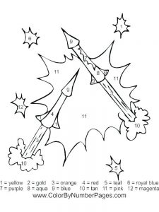 disney fireworks coloring page