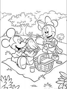 disney mickey mouse coloring pages app