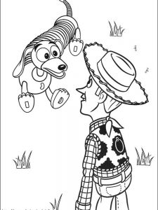disney pixar toy story coloring pages