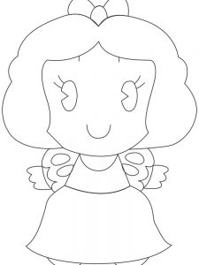 disney princess cuties coloring pages