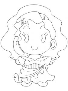 disney princess cuties coloring pages best