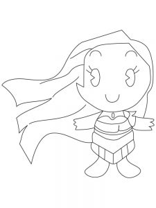 disney princess cuties coloring pages printable