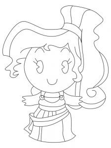 disney princess cuties coloring pages to print
