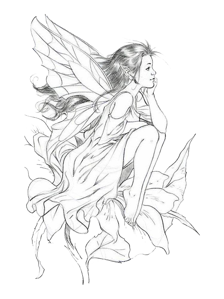 disney princess fairy coloring pages