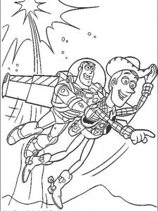 disney toy story coloring pages free