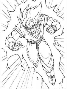 dragon ball z bulma coloring pages