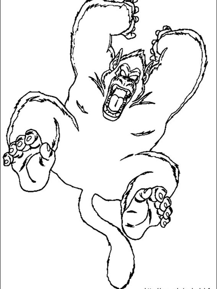 dragon ball z cell coloring pages