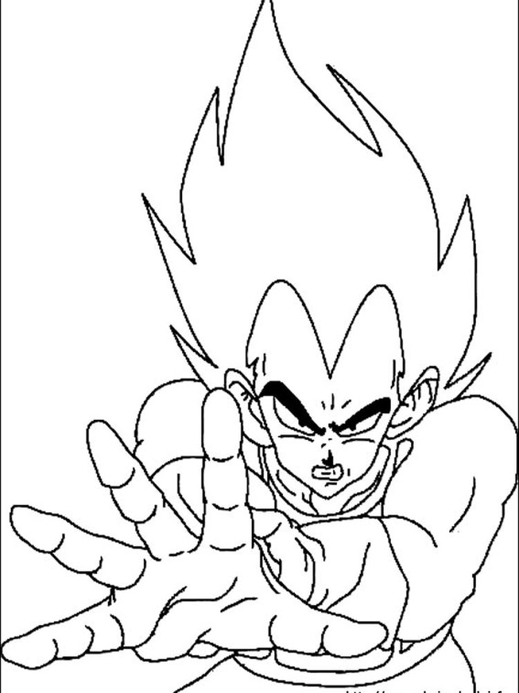 dragon ball z coloring pages buu