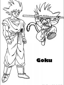 dragon ball z coloring pages gogeta