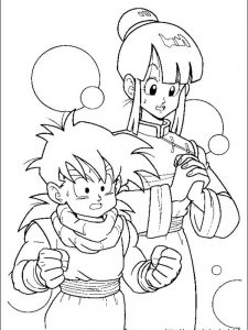 dragon ball z coloring pages online free