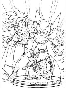 dragon ball z coloring pages trunks super saiyan