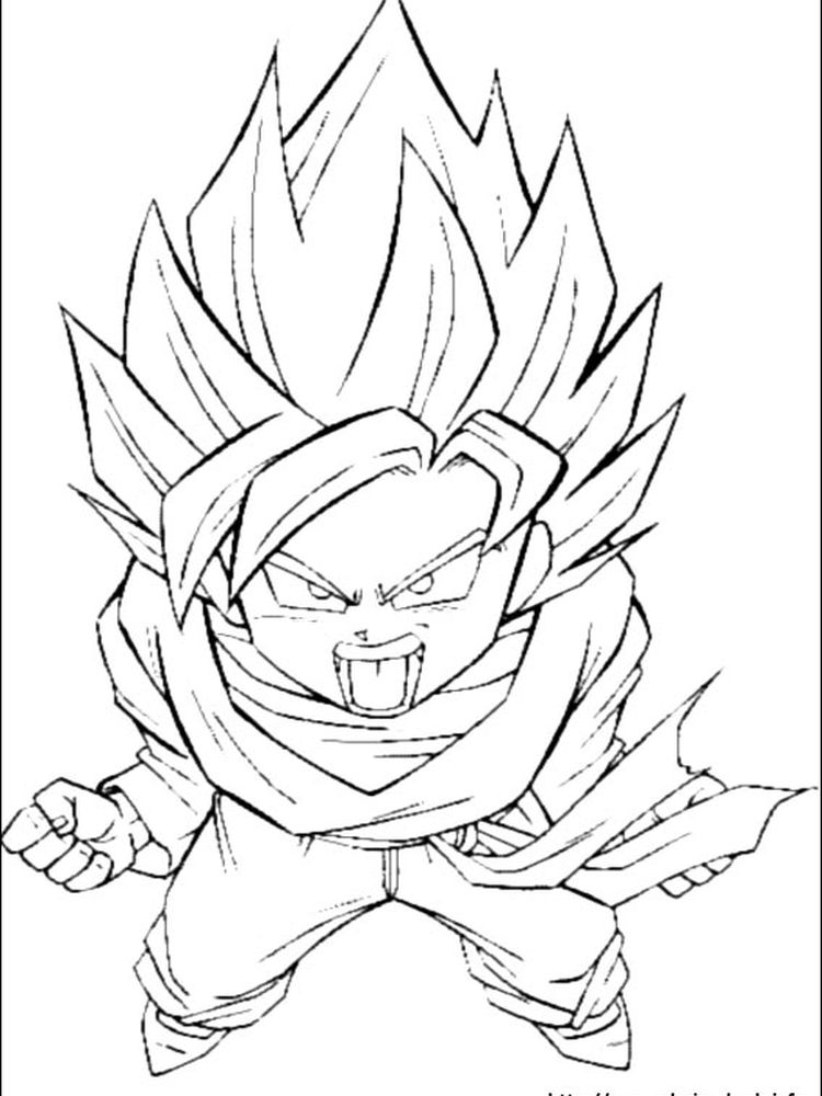 dragon ball z dragon coloring pages