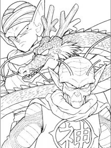 dragon ball z frieza coloring pages