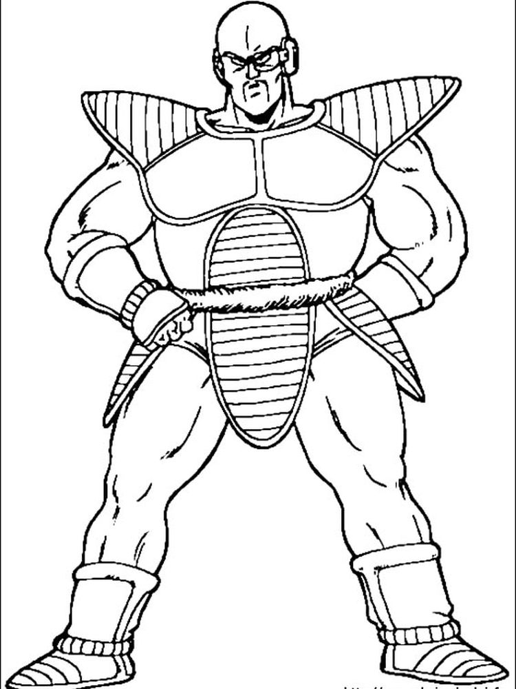 dragon ball z gt coloring pages