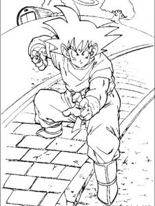 dragon ball z ultra instinct coloring pages
