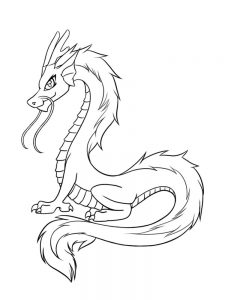 dragon coloring pages hard