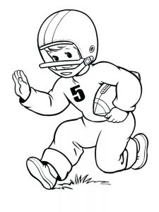 eagles football player coloring pages