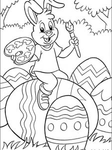 easter coloring pages 2019