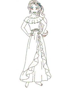elena of avalor coloring pages for preschoolers