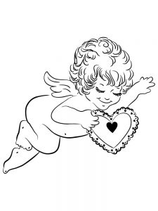 ever after high cupid coloring pages