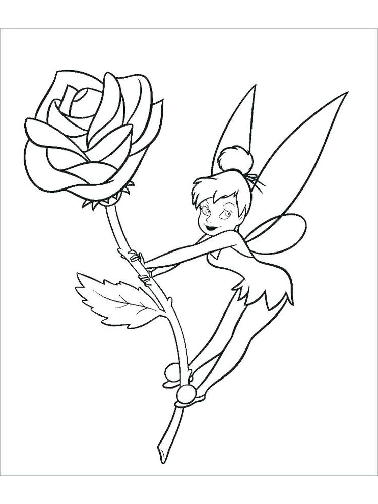 evil fairy coloring pages