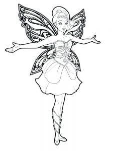 fairy coloring pages free printable
