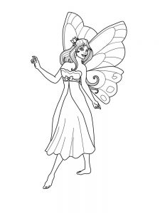 fairy coloring pages online
