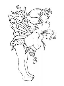 fairy coloring pages to print free