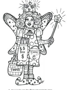 fairy tale characters coloring pages
