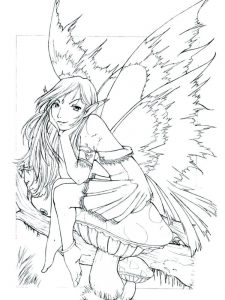 fairy tale coloring pages free download
