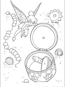 fairy tinkerbell coloring pages