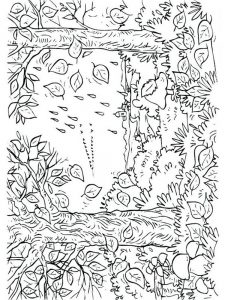 fall coloring pages for adults printable