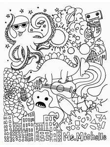 fall coloring pages for prek