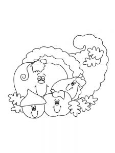 fall coloring pages pdf