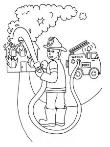 fire coloring pages 004