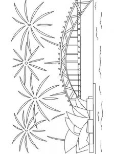 firework coloring pages