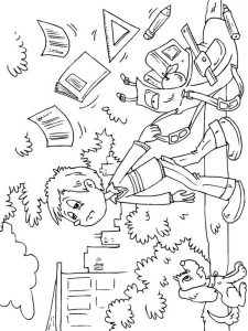 first day of school 2019 coloring pages