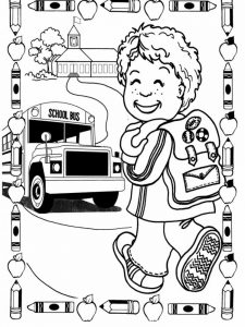 first day of school coloring pages 009