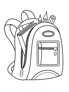 first day of school coloring pages 012