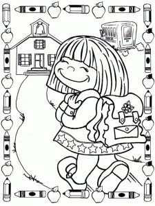 first day of school coloring pages 014